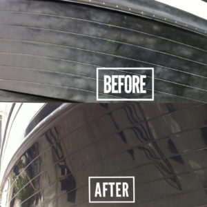 Dames Marine Services Boat Detailing Before & After