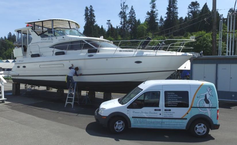 vancouver yacht cleaner