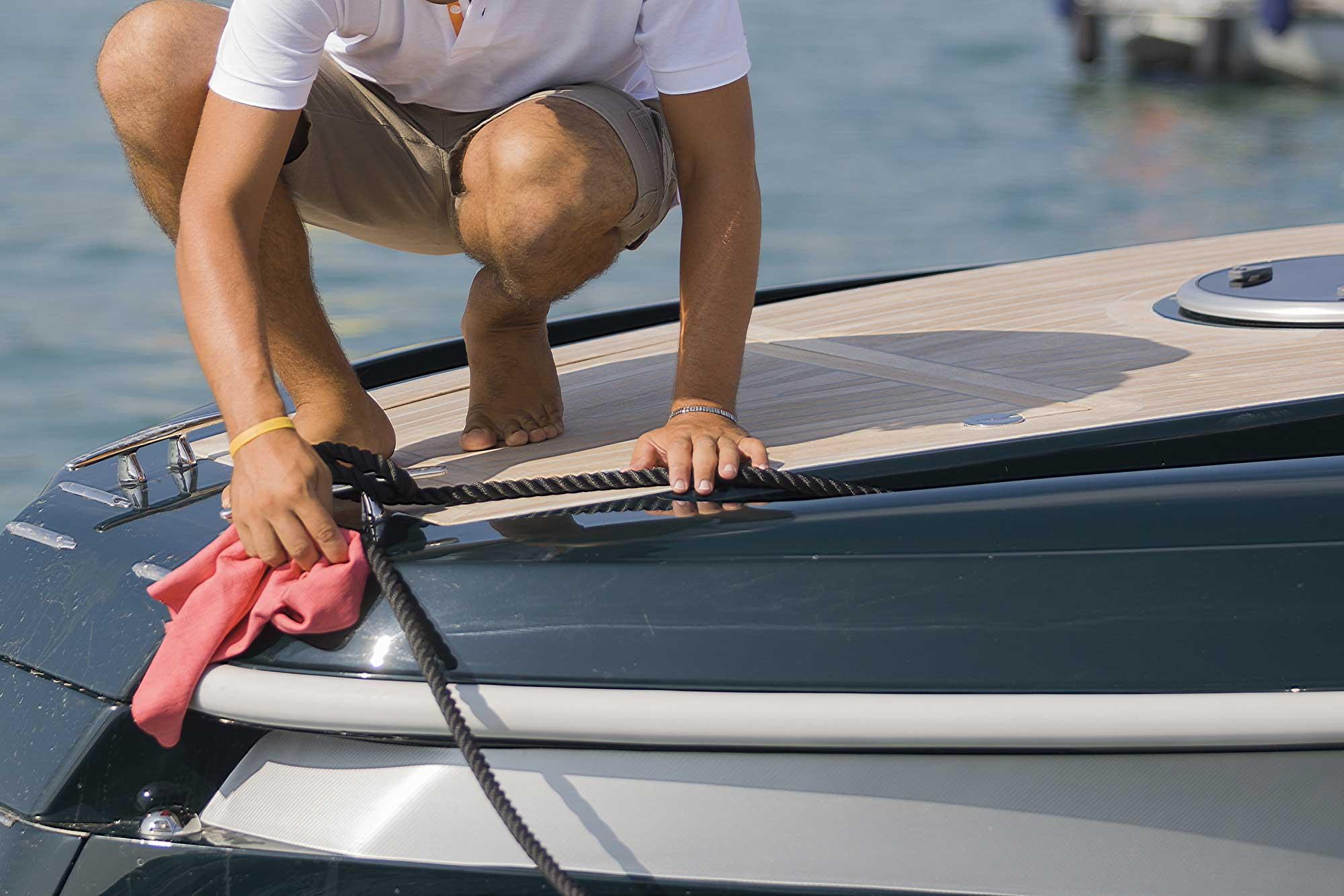 yacht wash